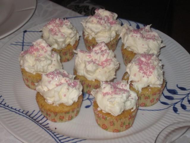 Mashmellow cupcakes